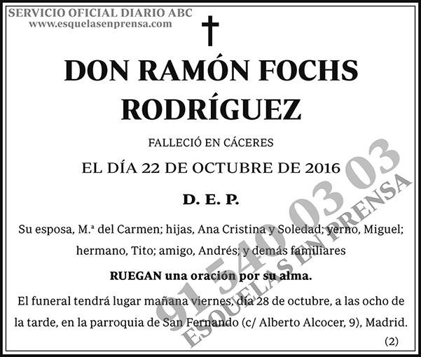 Ramón Fochs Rodríguez